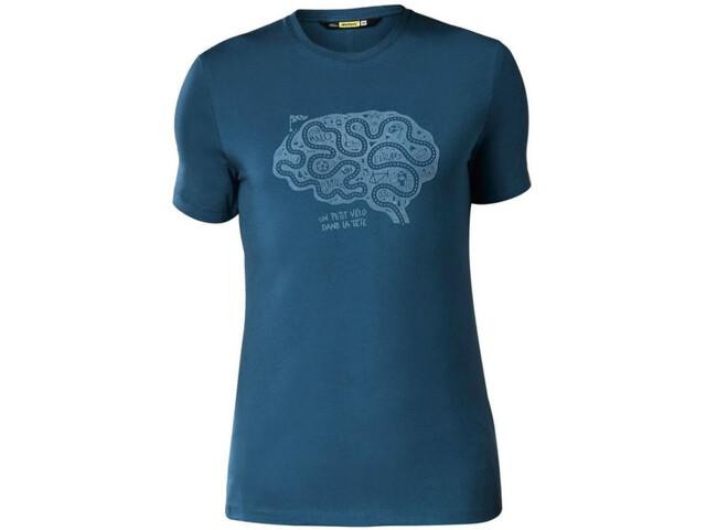 Mavic Cyclist Brain T-shirt Heren, poseidon